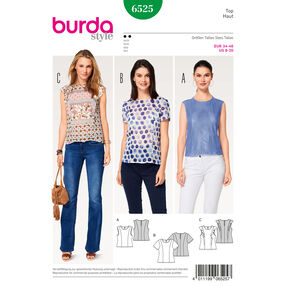 Burda Style Pattern B6525 Misses' Blouse
