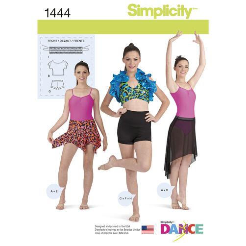 Misses' Knit Dancewear
