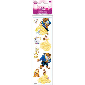 Beauty And The Beast Dimensional Stickers_51-40005