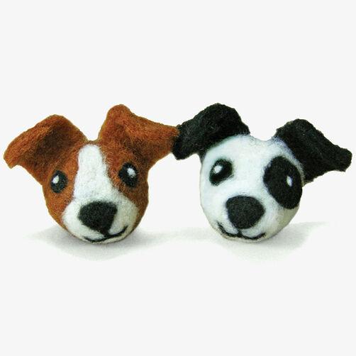 Round & Wooly Dogs, Needle Felting_72-73904