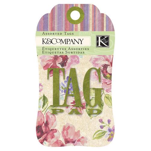 Watercolor Bouquet Tag Pad_30-619708
