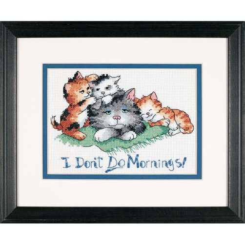 I Don't Do Mornings, Counted Cross Stitch_65043