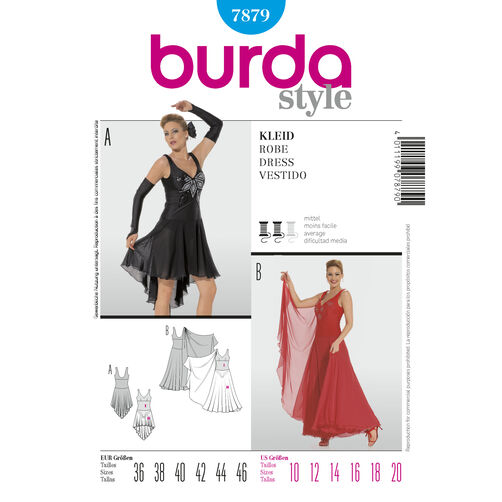 Burda Style Pattern 7879 Dress