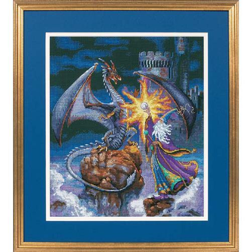 Magnificent Wizard, Counted Cross Stitch_35080