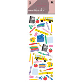 Time For School Stickers_52-30061