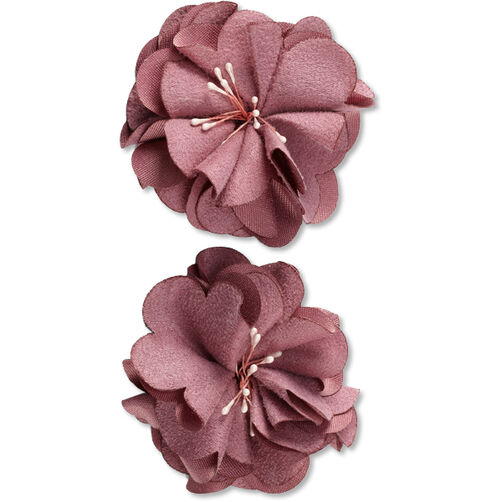 Dusty Rose Microfiber Flower Embellishments_50-60343