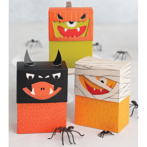 Monster Costume Treat Box Kit_48-20327