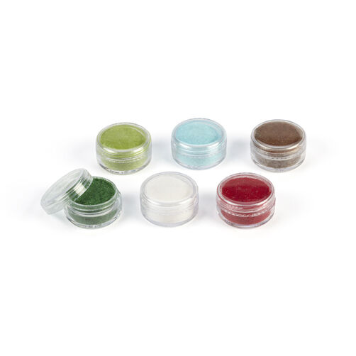 Christmas Glitter Flocking Powder 6 Pack _40-34043