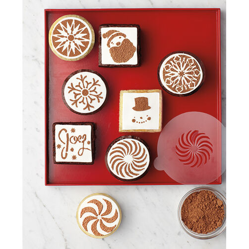Peppermint Winter Cupcake Stencils_48-30272