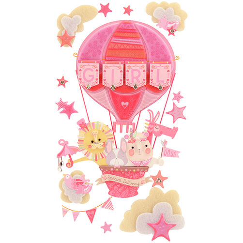 Baby Girl Special Delivery Stickers_50-50625