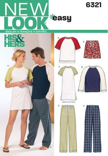 Misses', Men's, & Teens' Sleepwear