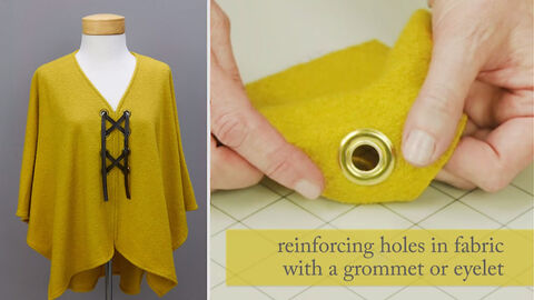 Easy How-To for Setting Grommets and Eyelets