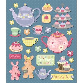 Tea Party Sticker Medley_30-587373
