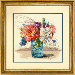 Garden Bouquet, Counted Cross Stitch_70-35334