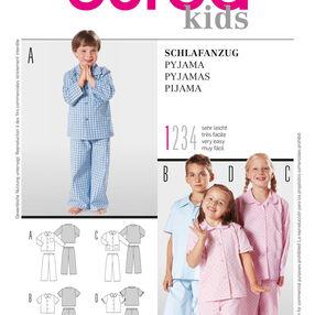 Burda Style Pattern 9747 Pyjamas