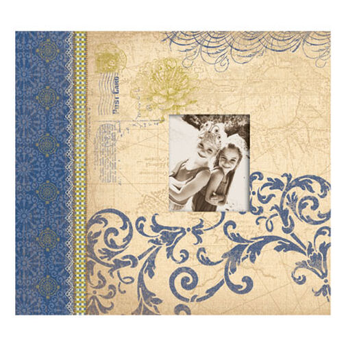 Blue Awning 12x12 Scrapbook_524781