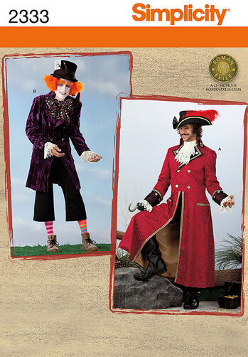 Simplicity Pattern 2333 Men's Costumes