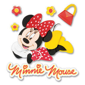Minnie Dimensional Sticker_DJBM019