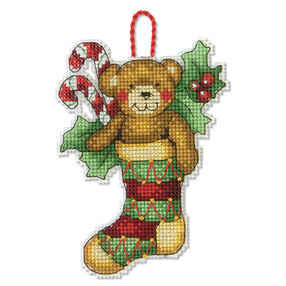 Bear Ornament, Counted Cross Stitch_70-08894