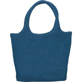 Midnight Blue Wool Felt Tote_73337