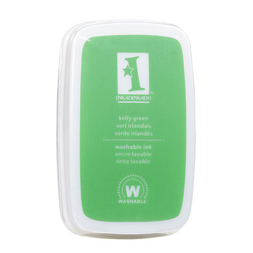 Kelly Green Washable Ink Pad_61-40005