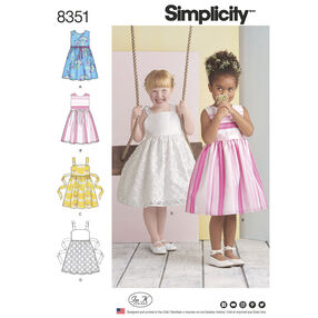 Simplicity Pattern 8351 Child's Dress