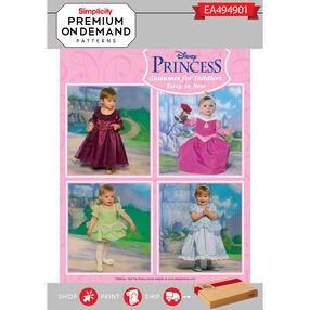 Simplicity Pattern EA494901 Premium Print on Demand Toddlers' Disney Costumes