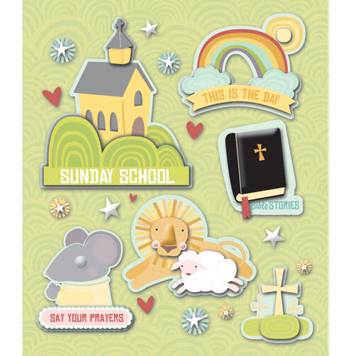 Sunday School Sticker Medley_30-586925