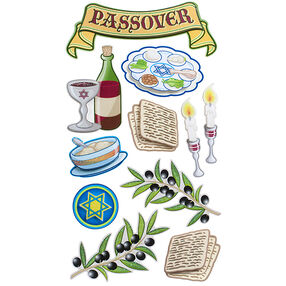 Passover Tradition Stickers_52-31019