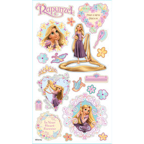 Rapunzel Puffy Stickers_53-30011