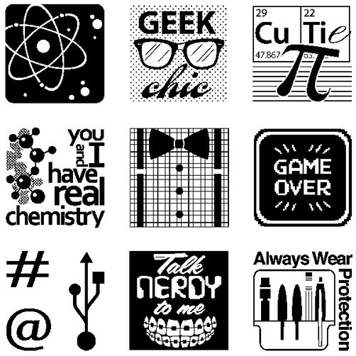 Nerds and Geeks Inchies Bundle_60-31216