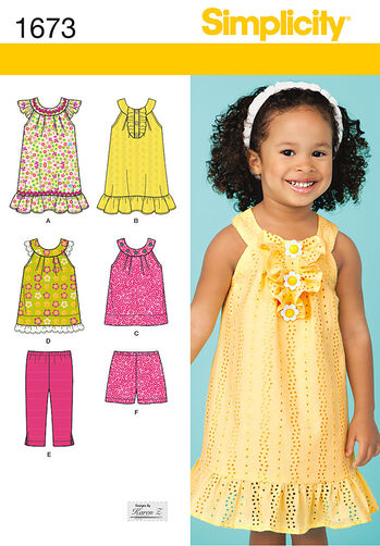 Toddlers' Dress and Separates