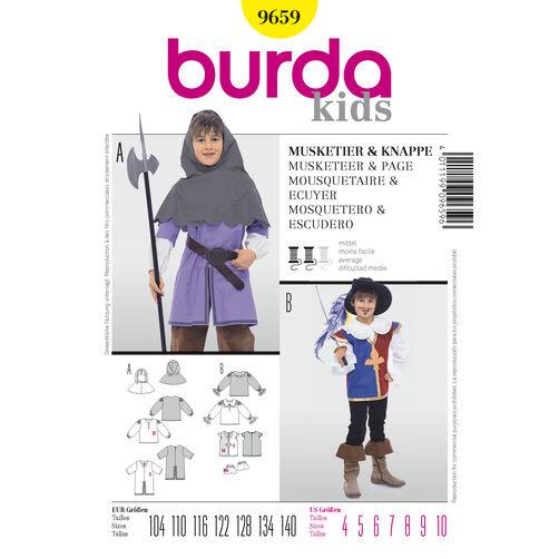 Burda Style Pattern 9659 Musketeer & Page