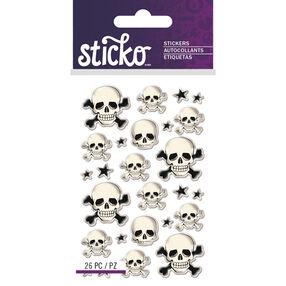 Mini Skulls Epoxy Stickers_52-60151