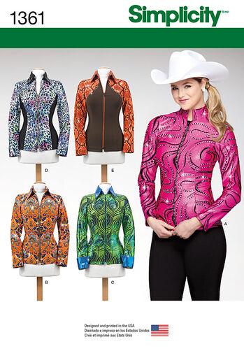 Misses' Knit Equestrian Performance Shirt