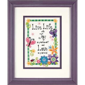 Live Life, Embroidery_06231