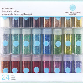 24 Vial Glitter Multi-Pack_M111102