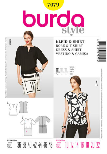 Burda Style Dress & Shirt