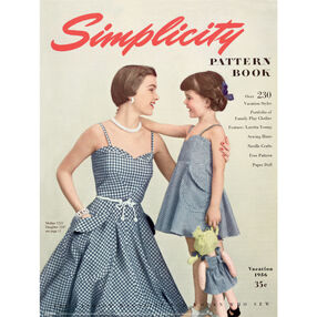 Simplicity Poster Vintage 1950s