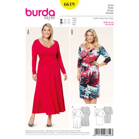 Burda Style Pattern 6619 Dress