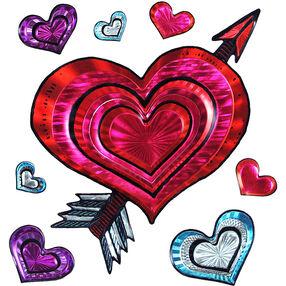 Cupid Hearts Big Stickers_52-80225