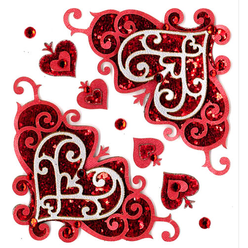 Valentine Flourishes Stickers_50-21094