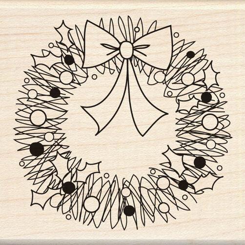 Doodle Wreath_60-00352