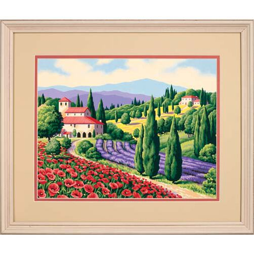 Tuscan Scene, Paint by Number_91317