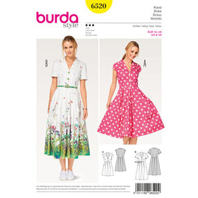 Burda Style Pattern B6520 Misses' Dress, Blouse and Skirt