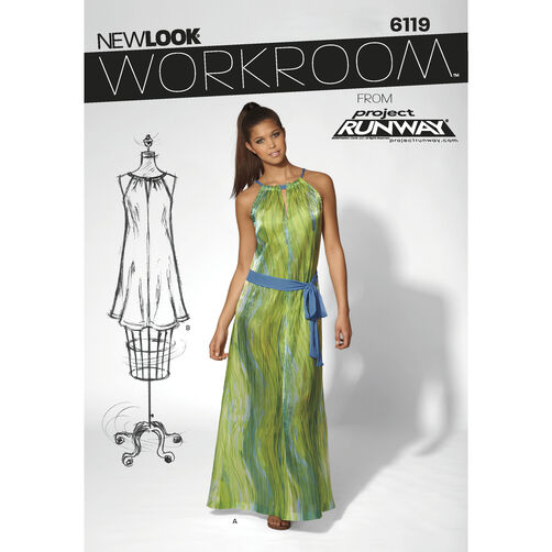 New Look Pattern 6119 Misses' Dress