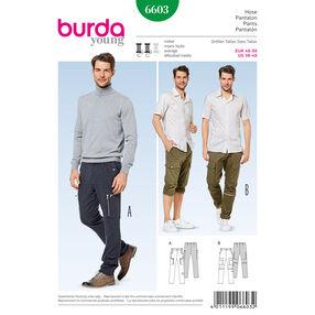 Burda Style Pattern 6603 Pants
