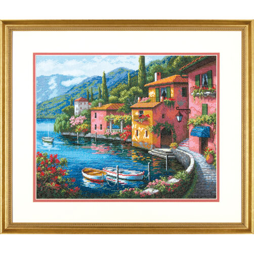 Lakeside Village, Counted Cross Stitch_70-35285