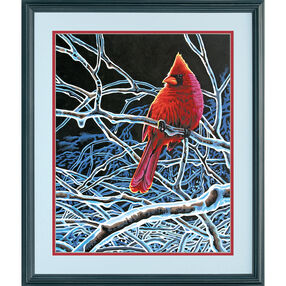 Ice Cardinal, Paint by Number_73-91432