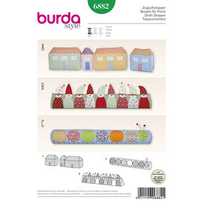 Burda Style Pattern 6882 Creative, Doll Clothes, Accessories